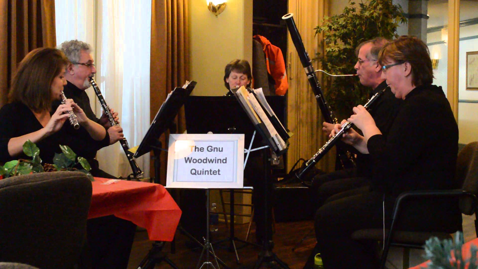 Gnu woodwind quintet the finnish bistro for Modern house quintet
